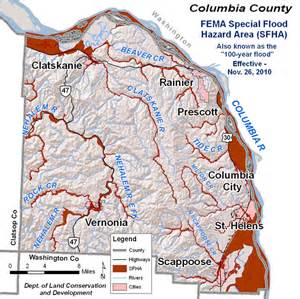oregon flood maps columbia county