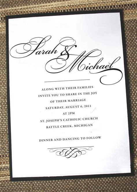 simple wedding invitation wording reduxsquad com