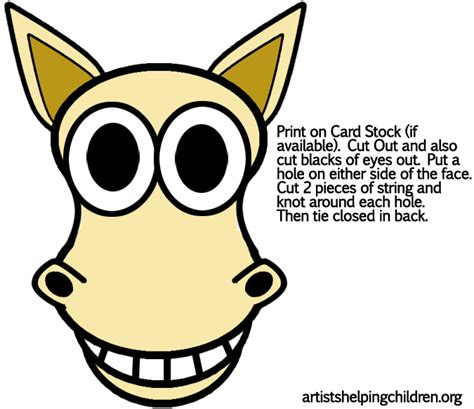 лошадиная маска своими руками stroy portal