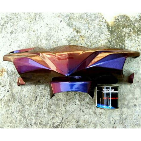 Harga Clear Cat Motor Yang Bagus rexpaint cat bunglon merk rexpaint paint protection