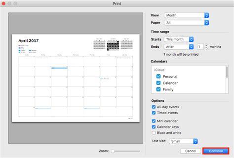 Icloud Calendar How To Print Icloud Calendar With Great Ease Imobie Inc