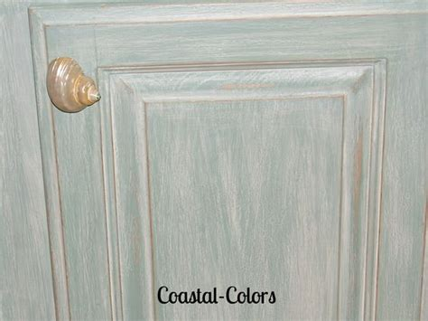 how to color wash furniture beachy chalk painted cabinets with a color wash painted