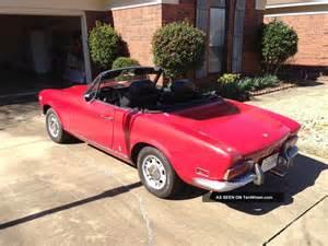 Fiat 124 Spider 1971 1971 Fiat 124 Spider