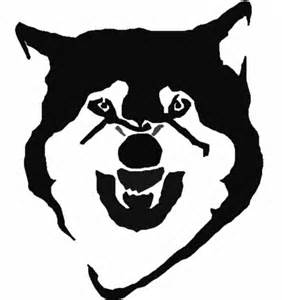 wolf stencil template 5 best images of wolf stencils free printable printable