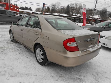 2004 Toyota Camry Tire Size Used 2004 Toyota Camry Le For 4990 In Orleans Ontario