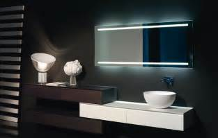 modern bathroom mirror lighting antonio lupi back lit mirrors modern bathroom mirrors