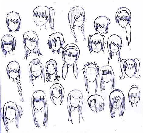 manga hairstyle short long front sides girl anime hairstyles latest comics episode