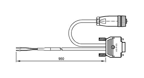 terminating resistor switch ec2050 connection cable with terminating resistor for can ifm electronic