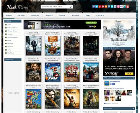 great templates for blogger free great hash movie blogger template for movies 2016