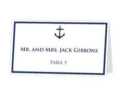 nautical place cards template nautical place cards on nautical
