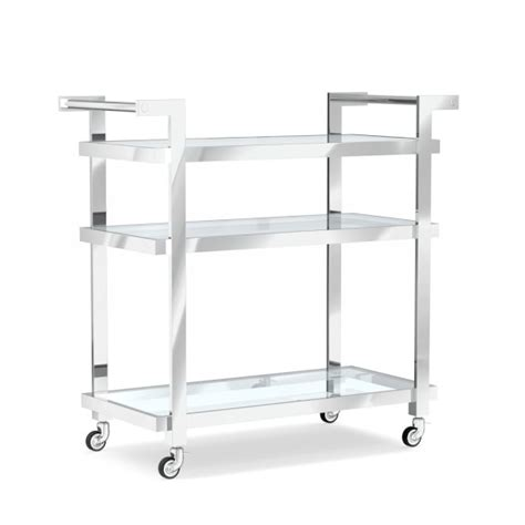 modern bar cart modern bar cart williams sonoma