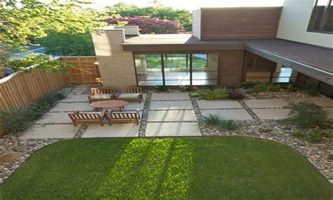Inexpensive Outdoor Patio Ideas Large Square Concrete Inexpensive Patio Pavers