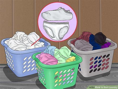 how to wash color clothes how to sort laundry 10 steps with pictures wikihow