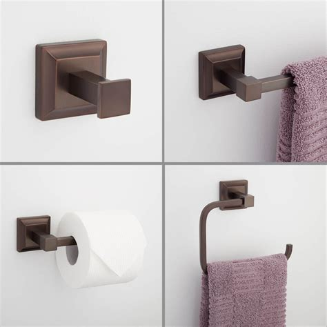 Bathroom Accessories Bronze Charming Rubbed Bronze Bathroom Accessories The Homy Design