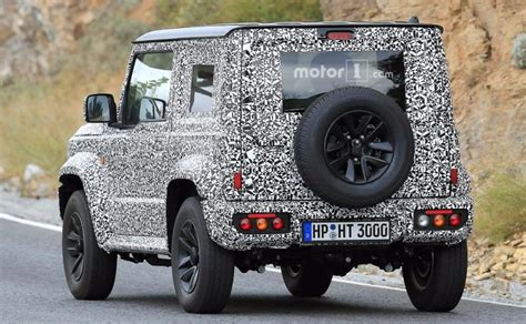 suzuki jimny new generation next suzuki jimny spotted testing alongside current