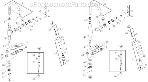 Kohler K 692 Parts List and Diagram : eReplacementParts.com