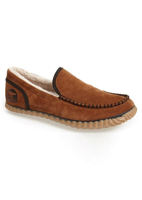 sorel mens slippers sale sorel sorel dude moc slipper shoes shop it to me