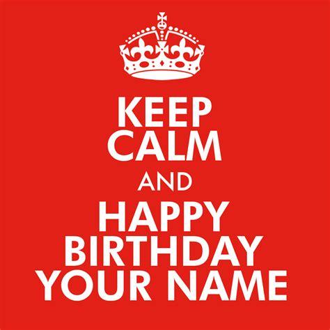 Keep Calm And great news keep calm and happy birthday personalized 15oz mug