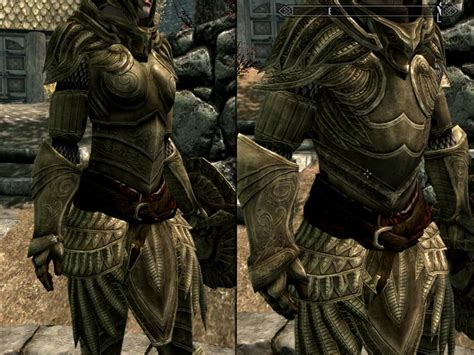 skyrim heavy armor mod heavy elven armor at skyrim nexus mods and community