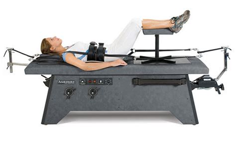 chiropractic traction table hill labs