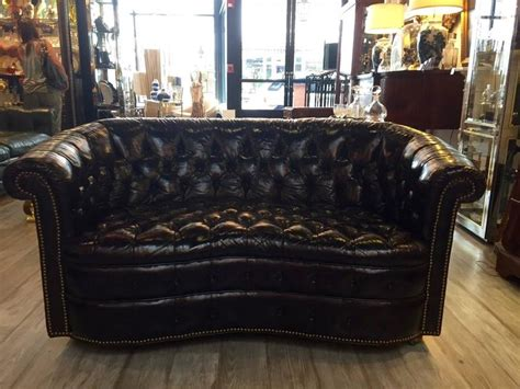 Curved Chesterfield Sofa Custom Curved Chesterfield Sofa Curved Chesterfield Sofa