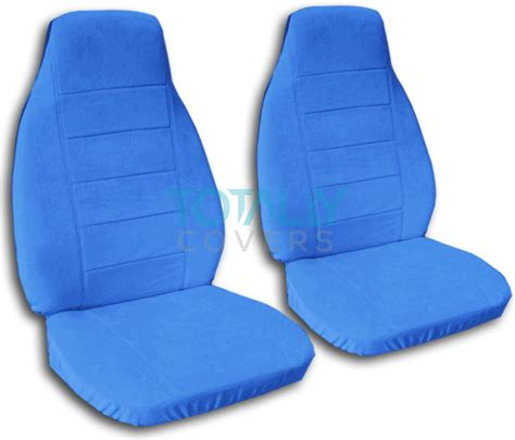 blue car seat solid color car seat covers front semi custom black