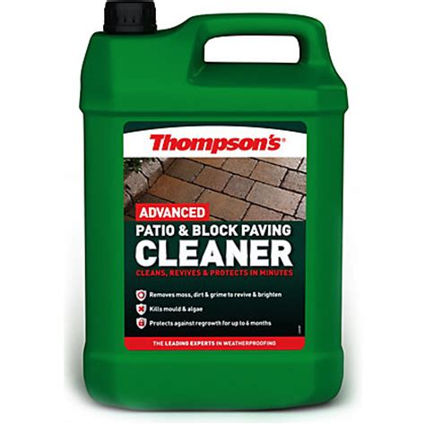 Thompsons One Coat Patio Sealer by Thompsons Patio And Block Paving Seal Look Finish
