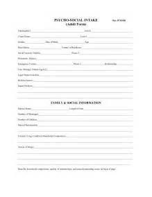 intake assessment template best photos of social work client assessment forms