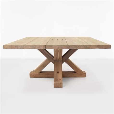 Reclaimed Teak Dining Table Alex Reclaimed Teak Square Outdoor Dining Table Design Warehouse Nz