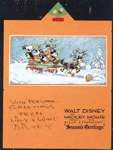 walt disney business card season s greetings from the walt disney company photos disney insider