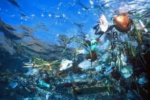 plastic ruining ocean