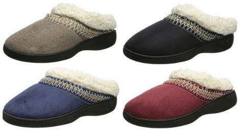 isotoner house shoes womens amazon black friday women s isotoner slippers 9 99 reg 34