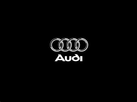 audi logo black and white audi logo hd wallpaper wallpapersafari