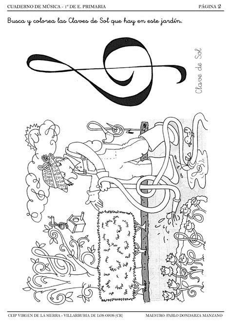 Cuadernillo de Lenguaje Musical - 1º A | musica | Fichas
