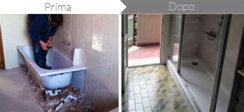 costo trasformazione vasca in doccia trasformare la vasca da bagno in doccia prezzi