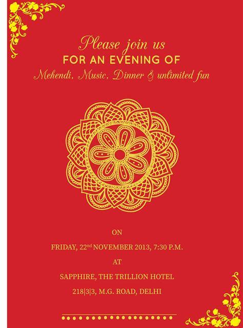 Pin By Invite Online On Mehndi Invitations Wording Sles Design Templates Pinterest Invitation Design Templates
