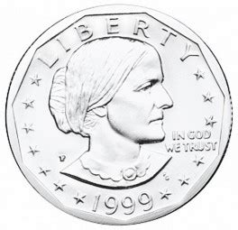 susan b anthony dollars 1979 1981 1999 mintage coin susan b anthony dollars clad composition 1979 1981