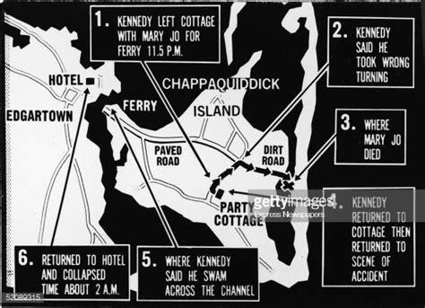 Chappaquiddick Map 40 Years Since The Chappaquiddick Trial Began Getty Images
