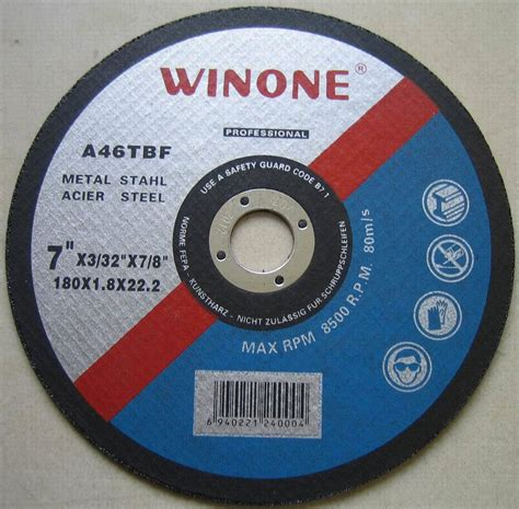 Cutting Whell china cutting disc for stainless steel iron china