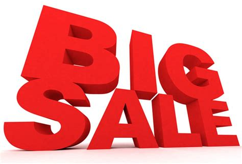 large for sale pin sale logo on