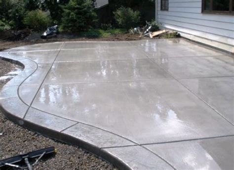 concrete patio estimate home design ideas and pictures