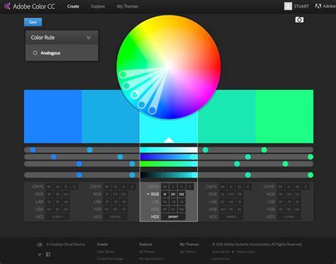 color wheel adobe symbian create