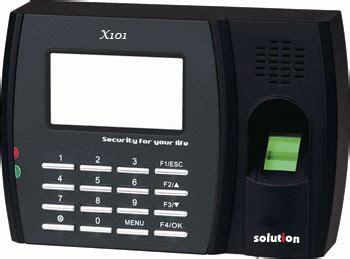 Absensi Wajah Solution X 606 mesin absensi sidik jari mesin absensi fingerprint
