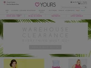 Wardrobe Voucher Code by Yours Clothing Discount Voucher Codes 2018 For Www Yoursclothing Co Uk