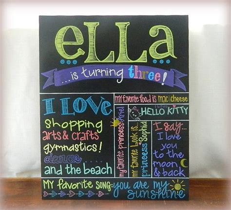 chalkboard paint birthday ideas painted birthday chalkboard painted birthday sign