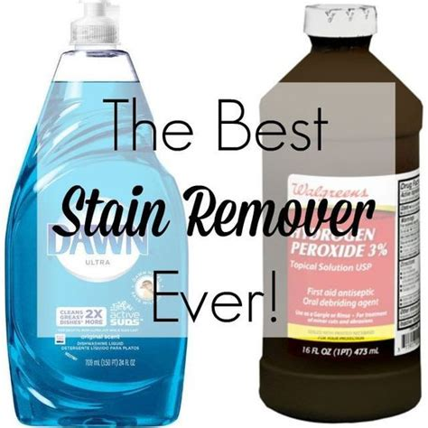 best clothing stain removal homemade stain removers