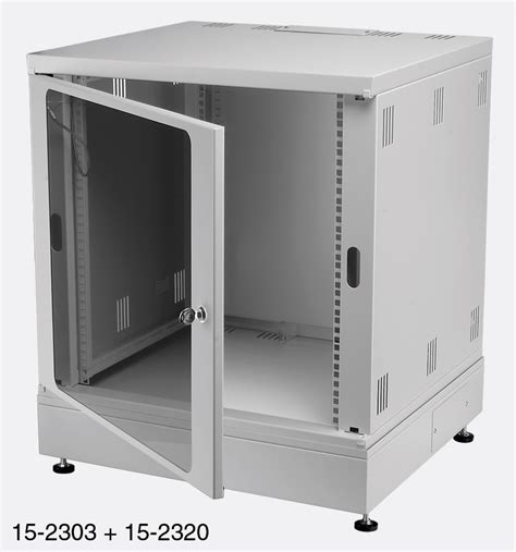 Cabinet Rack by Enclosure Systems 4345515 G Rack Cabinet 15u Grey
