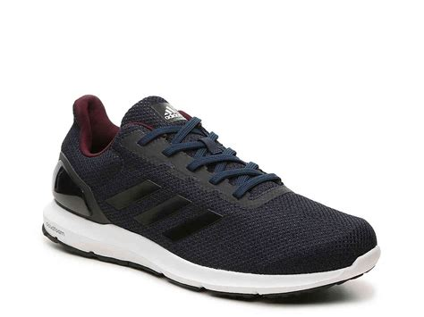 adidas cosmic 2 adidas cloudfoam cosmic 2 running shoe navy black men