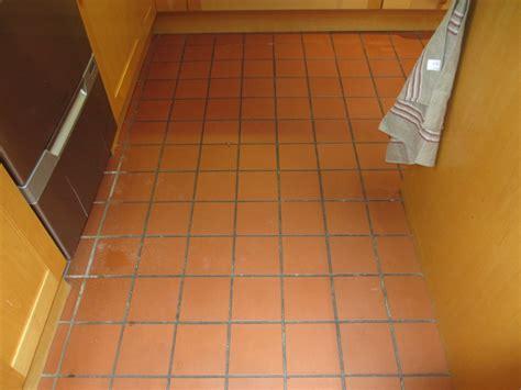 tile floor maintenance quarry tiled kitchen floor cleaned in leatherhead east