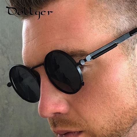 Ori Sunglass Retro Aluminumtr90 Vintage For Menwomen buy dollger steunk retro coating mens vintage sunglasses brand designer gafas